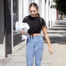 Maddie Ziegler – Leaving the Dancing with the Stars Studios in LA - 454 x 681