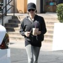 Jenna Dewan – Leaving the Coffee Bean in Los Angeles
