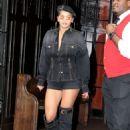 Rita Ora in Shorts – Leaving her hotel in New York City