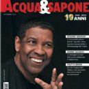 Denzel Washington - Acqua & Sapone Magazine Cover [Italy] (November 2014)