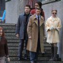 Caity Lotz - 'Legends of Tomorrow' Set on January 12, 2017