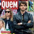 Caroline Celico, Kaká - Quem Magazine Cover [Brazil] (13 June 2014)