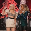 Gwen Stefani and Eve at The Talk Show in Los Angeles