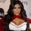 Kim Kardashian As A Busty Dorothy Heidi Klum's Halloween Party In New York 10/31/2010