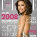 Eva Longoria - Elle Magazine Cover [Norway] (January 2008)