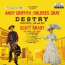 Destry Rides Again Original 1959 Broadway Cast. Music By  Harold Rome - 454 x 454