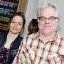 Mimi O'Donnell and Philip Seymour Hoffman - 454 x 303