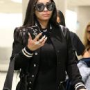 Blac Chyna at the Airport in Miami, Florida - March 7, 2018 - 306 x 796