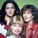 Pat Klous, Kathryn Witt, Connie Sellecca
