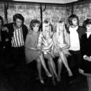Georgette Lemaire, France Gall, Johnny Hallyday, Rika Zarai, Herbert Leonard - 454 x 342