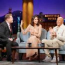 Eiza Gonzalez and Vin Diesel – The Late Late Show with James Corden in LA