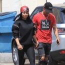 Blac Chyna and Boyfriend Mechie Out in Beverly Hills, California - August 25, 2017
