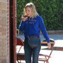 Kristen Bell at Little Dom's Restaurant in LA - 454 x 681