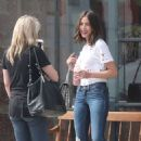 Olivia Culpo out in Brentwood - 454 x 680