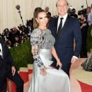 Thalia and Tommy Mottola- 'Manus x Machina: Fashion In An Age of Technology' Costume Institute Gala - Arrivals - 349 x 519