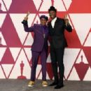 Spike Lee and Mahershala Ali At The 91st Annual Academy Awards - Press Room - 454 x 303