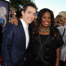Kevin McHale (actor) and Amber Riley