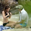 Kelly Brook - Jan 06 2008 - Bikini Candids In St. Barthelemy, France