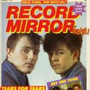 Roland Orzabal, Curt Smith - Record Mirror Magazine Cover [United Kingdom] (5 February 1983)