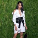 Chanel Iman – CFDA/Vogue Fashion Fund 15th Anniversary Event in Brooklyn - 454 x 682