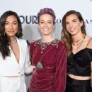 Christen Press, Tobin Heath and Megan Rapinoe at the Glamour Women of the Year Gala - 454 x 363