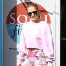 Jennifer Lopez at Somi Fitness in Miami