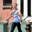 Claire Danes - Walking Home From The Gym In New York City - July 21, 2010