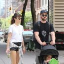 Jessica Biel and Justin Timberlake go for a walk in Tribeca - 454 x 683