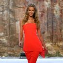 Jennifer Hawkins- Myer AW16 Fashion Launch - Rehearsal