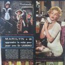 Marilyn Monroe - Cinemonde Magazine Pictorial [France] (10 October 1957) - 454 x 605