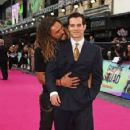 Jason Momoa and Henry Cavill- August 3, 2016- Suicide Squad London Premiere