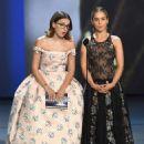 Emilia Clarke, Millie Bobby Brown : 70th Emmy Awards