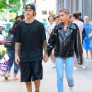 Hailey Baldwin and Justin Bieber – Leaves Ciprianis in Soho