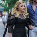 Chloe Moretz – Leaves her Hotel in NY