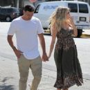 Ryan Lochte seen leaving a lunch outing in West Hollywood, California on March 24, 2017 - 454 x 593