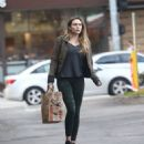 Elizabeth Olsen in Tights – Out in LA 1/15/ 2017 - 454 x 520