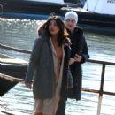 Priyanka Chopra – On location with the cast of Quantico in New York City - 454 x 649