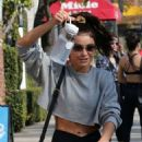 Sarah Hyland – Leave a gym session in Studio City