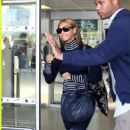Beyonce Knowles - Nice Airport In France, May 22 2008