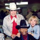 Beverly with Montie Montana & Woody Strode 1994
