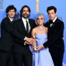 Mark Ronson, Anthony Rossomando, Lady Gaga and Andrew Wyatt At The 76th Golden Globe Awards (2019) - 454 x 328