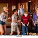 (L-R) AJ Michalka, Sean Cunningham, Dylan Walsh, Jacob Rhodes, Carissa Capobianco. Ph: John Bramley ©Disney Enterprises, Inc. All Rights Reserved.