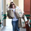 Ellen Pompeo: of groceries as she left Erewhon Foods in West Hollywood