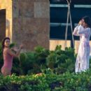 Eva Longoria – In pink swimsuit on her vacay in Cabo San Lucas