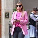 Holly Valance – In a pink blazer out in London - 454 x 525
