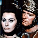 Sophia Loren and Stephen Boyd in The Fall of the Roman Empire (1964) - 454 x 623