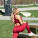 Bianca Gascoigne – Having an exercising session in Kent - 454 x 562
