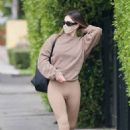 Amelia Gray Hamlin – Steps out for pilates session in West Hollywood