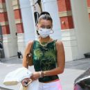 Bella Hadid – Leaving her apartment in New York