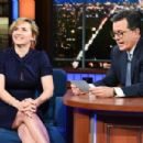Kate Winslet At The Late Show with Stephen Colbert (December, 2017)